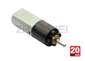 China 20 Millimeter Low Noise Micro Dc Motor For Medical Instrument , POM Gears Material on sale