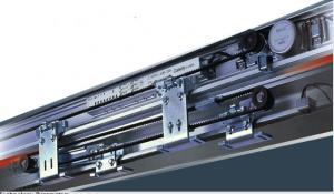 China Waterproof and dust resistance Auto Telescopic Sliding Door 200kg Capacity on sale