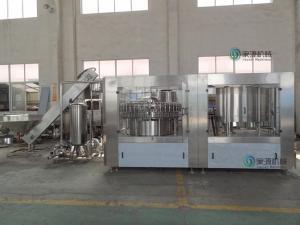 China 2L Round PET Bottle Drinks Filling Machinery , Rotary Filling Machine on sale