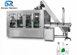 China Beverage Liquid Glass Bottle Filling Machine / Wine Production Line on sale