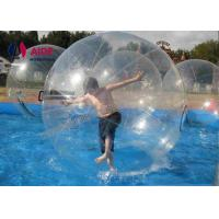 Clear Tpu Water Walking Ball / Adult Zorb Ball Inflatable Human Hamster Plastic