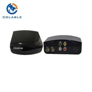 China HD ISDB T TV Set Top Box Compatible HD TV Decoder Receiver HDMI CVBS Output on sale