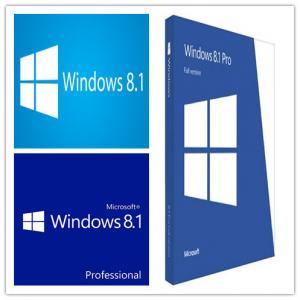 China Original Windows 8.1 Pro OEM License , Windows 8.1 Download 64 Bit For PC on sale