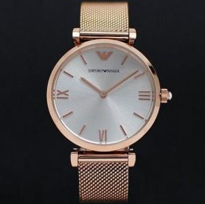 China Wholesale NEW EMPORIO ARMANI AR1956 GIANNI T-BAR GOLD MESH WHITE DIAL 32MM LADIES WATCH on sale