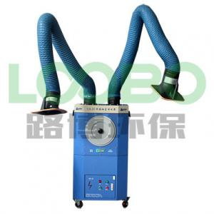 China Industrial portable welding fume extractor with fume extraction arms and cleaning system on sale
