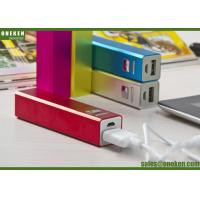 China Mobile Phone 18650 Power Bank 2600mAh Lithium Polymer Battery Bank on sale