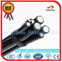 Xlpe Insulation Aluminum Overhead Power Cables 6 AWG Size Excellent Corrosion Resistance