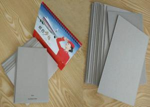 Quality 787 * 1092mm 889 * 1194mm Grey Chip Board Uncoated For Packaging / Calendar for sale