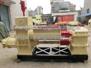 China automatic soil /mud/shale vacuum extruder/block making plant on sale