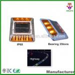 ultra bright aluminium IP68 led solar road stud with CE and RoHS certificates/Cat eye solar road marker