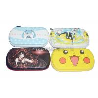 Portable Game Carrying Case PU Surface For Travel , Color Customized