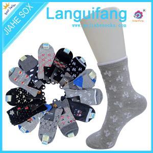 China custom woman casual socks ,women crew socks ,leisure  socks manufacturer on sale