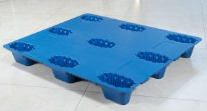 China Transportation Plastic Pallets 1200*1000 Mm Nesting Blow Molding on sale