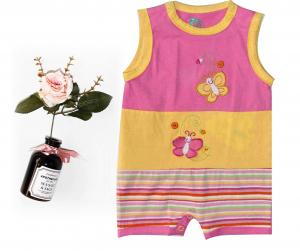 China Embroidery Cute Newborn Baby Clothes Baby Girl Onesies For Sleep , Play on sale