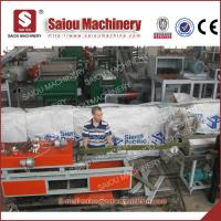 China plastic flat prestress pipe making machine on sale