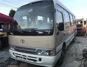 China Toyota Coaster 30 Seater Bus Left Hand Drive 100% Original Japan Used Toyota Coaster Mini Bus for Sale on sale