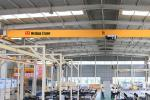 FEM/DIN Single Girder Overhead Crane  Lifting Weight: 1t-10t Span: 7.5m-22.5m or other Working Level: A4
