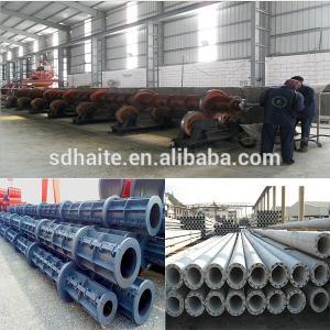 China Concrete Pole Forming Production Line And Prestress Concrete Pole Making Machine Sale on sale