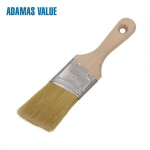 China Hard Wooden Handle Synthetic Paint Brush For Water - Based Paint Or Decoration on sale