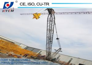 China WD80(2420) 8ton 24m Boom Length Derrick Crane for High Rising Construction on sale