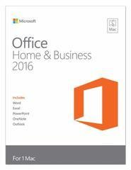 Quality 1 PC Microsoft Office 2016 Mac Product Key , Mac Home And Business Retail Box for sale