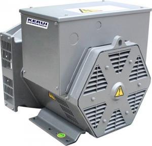 China AC Brushless 8.4KVA --15.6KVA Dynamo Generator / Alternator KR162D on sale