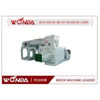 China Vacuum Extruder Automatic Red Soil Brick Making Machine Low Power Consumption on sale
