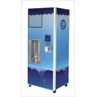 Credit Card Pure Water Vending Machines With Lcd Advertising Display 24v RO Bump