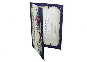 China Artwork Greeting Card Recordable Sound Module Custom CMYK Printing For Birthday on sale