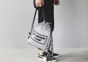 China Tear Proof Reusable Tote Bags , Light Drawstring Rolling Tote Bags For Travel on sale