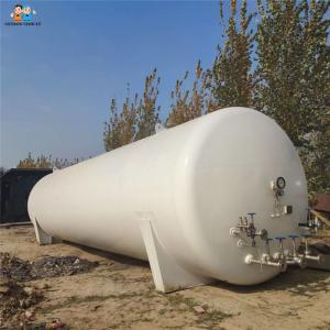 China Factory selling 40 cbm LPG storage tanker material carbon steel on sale