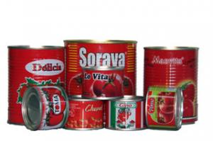 China Canned Raw Material Tomato Paste Tomato Paste 70G - 235KG B117 on sale