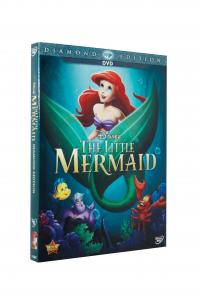 China Free DHL Shipping@New Release HOT Cartoon DVD Movies The Little Mermaid Diamond Edition Wholesale,New factory sealed! supplier