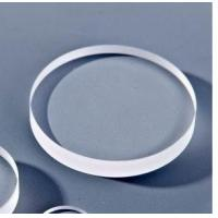 China diameter 35mm optical Fused silica glass Round window for protecting on sale