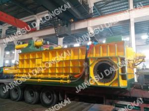 China Hydraulic Scrap Metal Baling :  Y81F - 400 with Double Main Cylinders  Made in China on sale