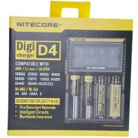 Nitecore D4 Flashlight Battery Charger  EU/US Plug Intelligent Torch Battery Charger