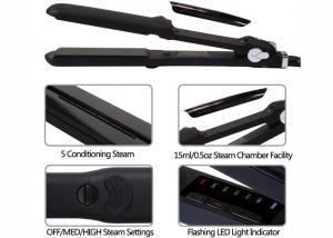 China Salon Ceramic Steam Pro Hair Straightener450F Max Temp 2.5m Power Cord on sale