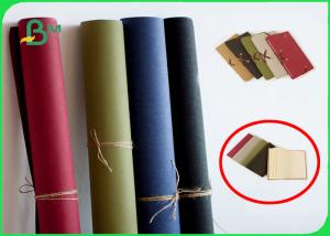 China Colorful Kraft Liner Paper 0.55mm Thickness For Bags / Gift Packaging on sale
