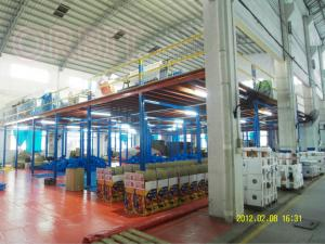 China 1000kg Heavy Duty Industrial Mezzanine Floors For Warehousing / Office on sale