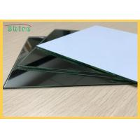 China 130 Microns Mirror Safety Backing Film Milk White Protective Film For Mirror Backing Protect on sale