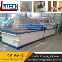 PVC film MDF Kitchen vacuum membrane press machine