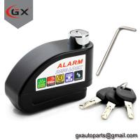 China Scooter/Motorcycle Anti-Thieft Alarm Disc Lock Wheel Brake Disc Lock on sale