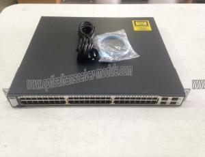 China WS-C3750G-48TS-S EMI IOS Gigabit Ethernet Network Switch , Ethernet Switch SFP on sale
