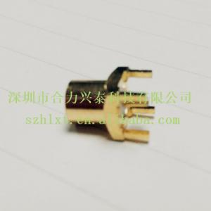 China les connecteurs femelles de série coaxiale de l'application mmcx de rf pour la carte PCB embarquent, or plaqué, directement on sale