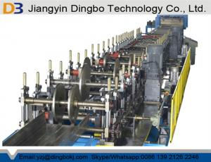 China Width 100-600mm Adjustable Cable Tray Roll Forming Machine with Hydraulic Cutting on sale
