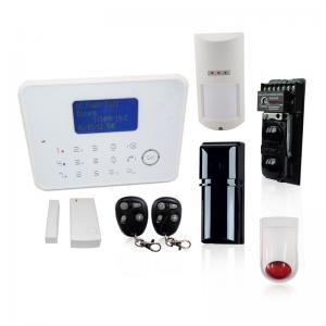 China Home Intrusion Alarm System Operated GSM PSTN For Outdoor Protection on sale