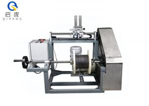 China QP500 Wire Take Up Machine Small Coil Rewinding Machine With Frequency Conversion on sale