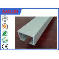 China Extruded Anodized Finish Aluminium C Channel for Curtain Track System OEM on sale