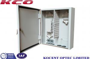 China Outdoor Wall Mountable Metallic Optical Fiber Termination Box 72/96 Cores on sale