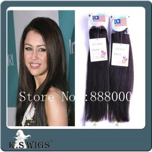 China Real malaysia human natural hair,machine weft on sale